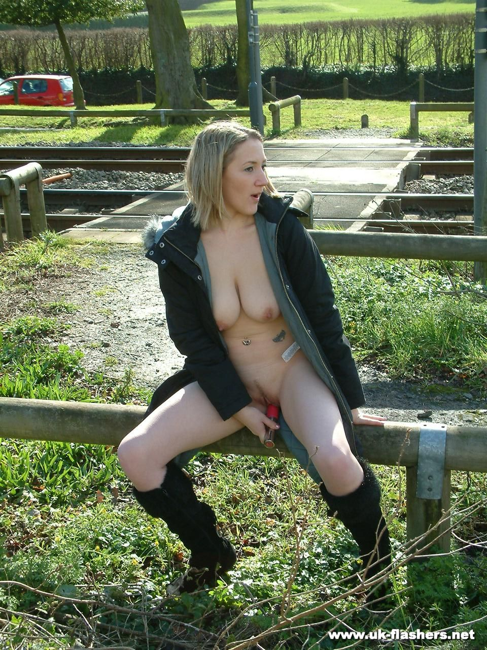 wives public nude Naked